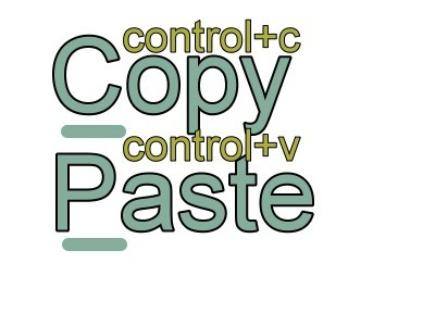 copy paste 1