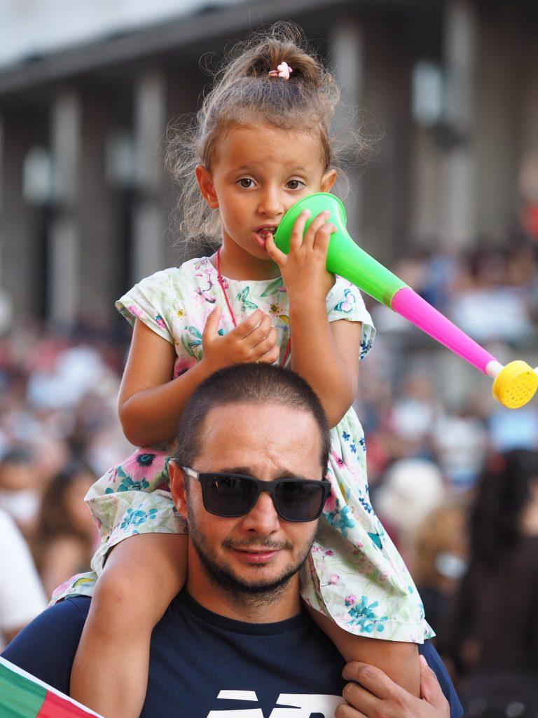 Protest M Vlaikov Tatko dete 2020